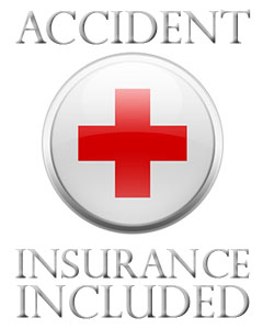 Accident insurance included